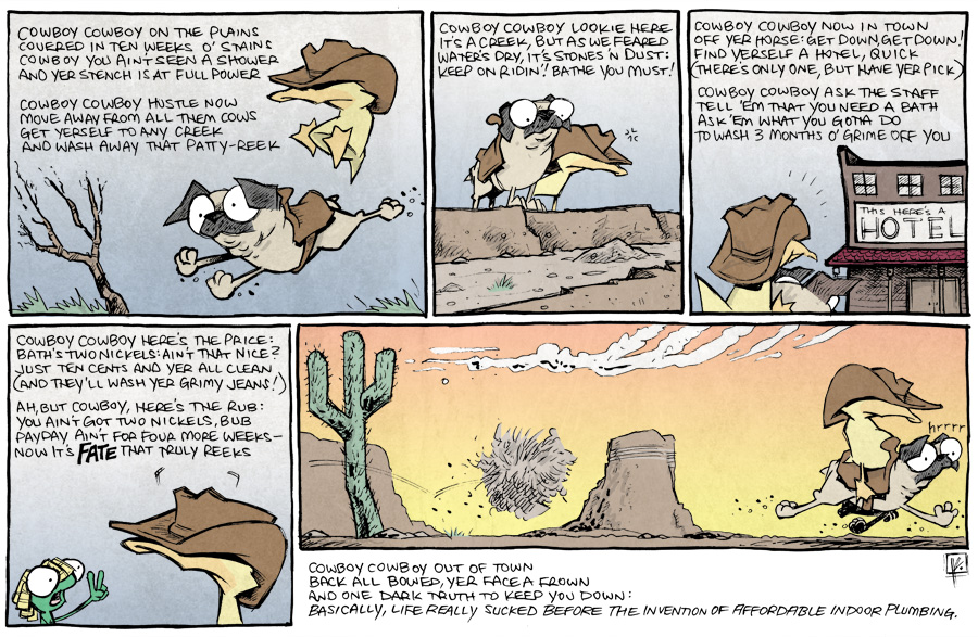 strip for August / 11 / 2014 - Ballad of the Eternal Cowbody