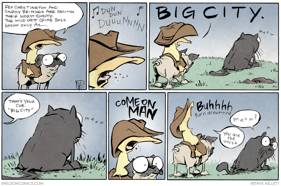 strip for August / 12 / 2014 - Big City