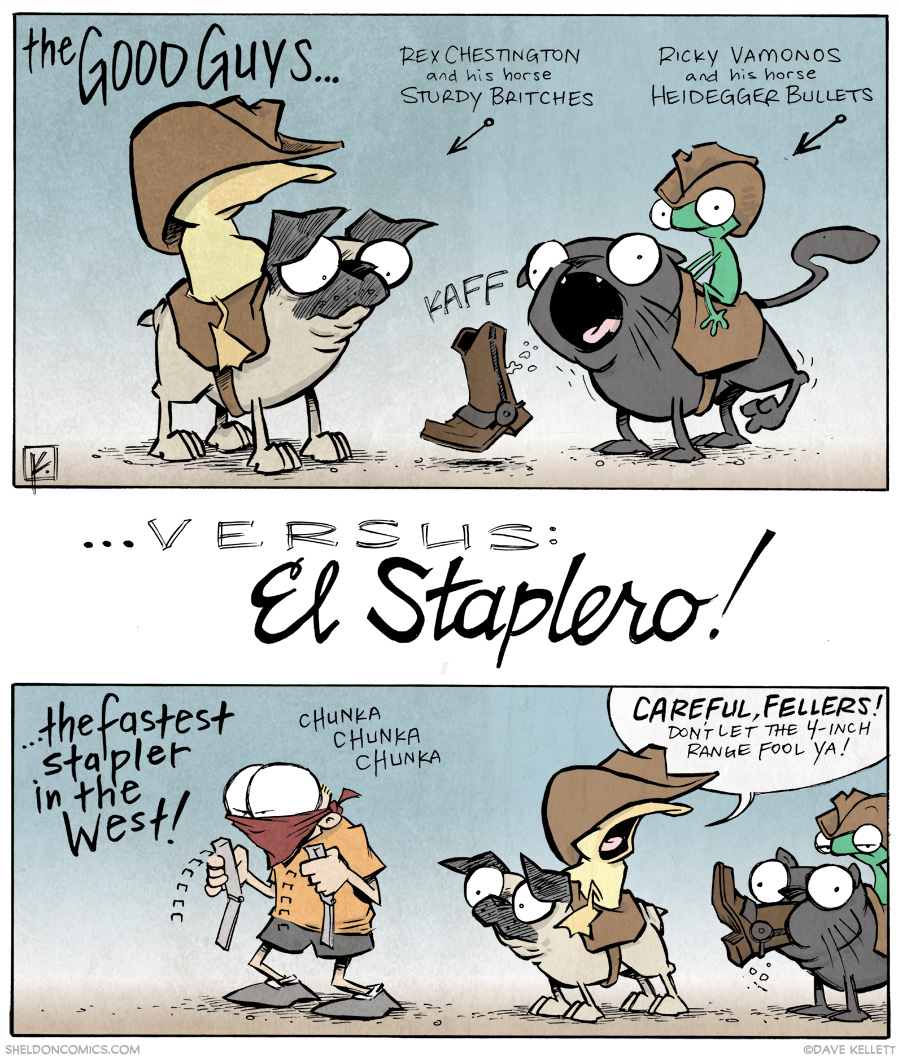 strip for August / 14 / 2014 - ¡El Staplero!