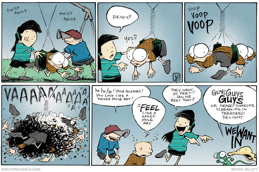 strip for August / 22 / 2014 - Twistin' in the Wind