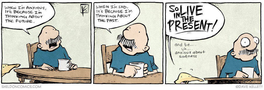 strip for September / 3 / 2014 - What's past is prelude