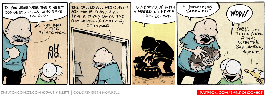 strip for September / 11 / 2014 - Himalayan Squishie, part 1
