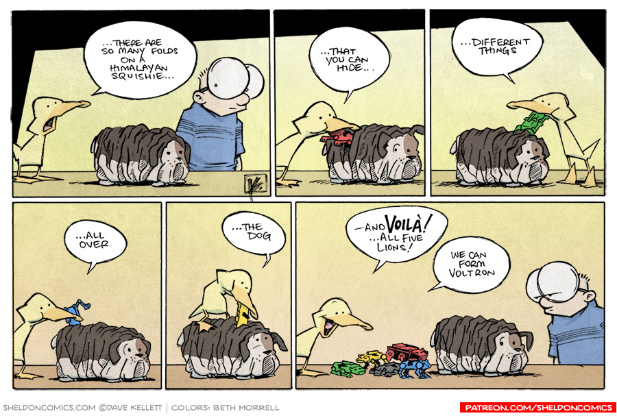 strip for September / 18 / 2014 - And I'll Form The Head