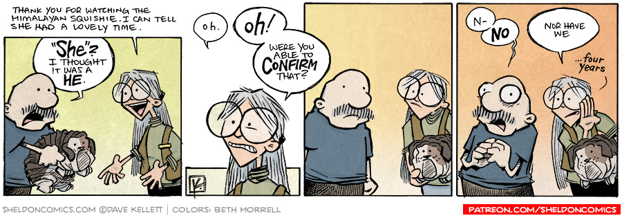 strip for September / 19 / 2014 - It's a Huge Mystery, Charlie Brown