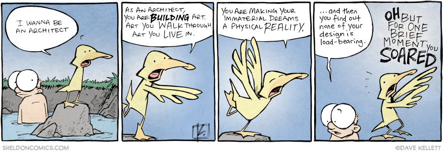 strip for October / 2 / 2014 - I Wanna Be An Architect