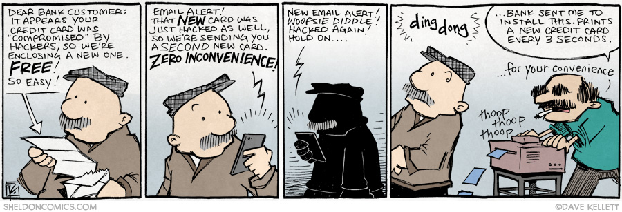 strip for October / 6 / 2014 - Oh and BTW: Your call is very important to us