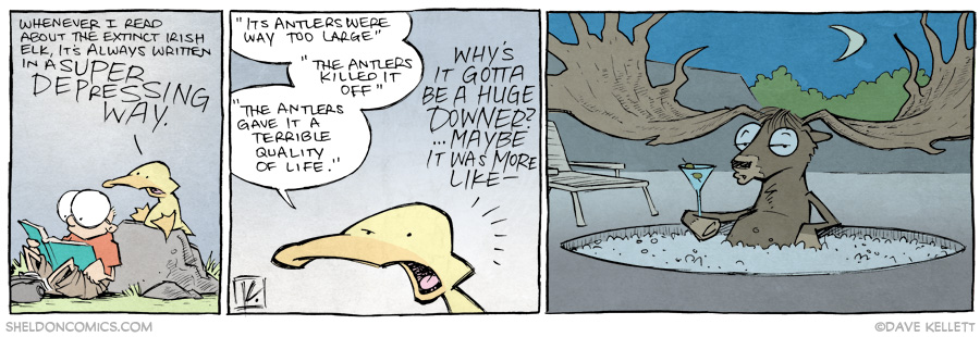strip for October / 10 / 2014 - Why we gotta be Debbie Downers about it?