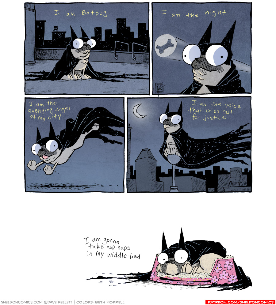 strip for October / 14 / 2014 - I am the night