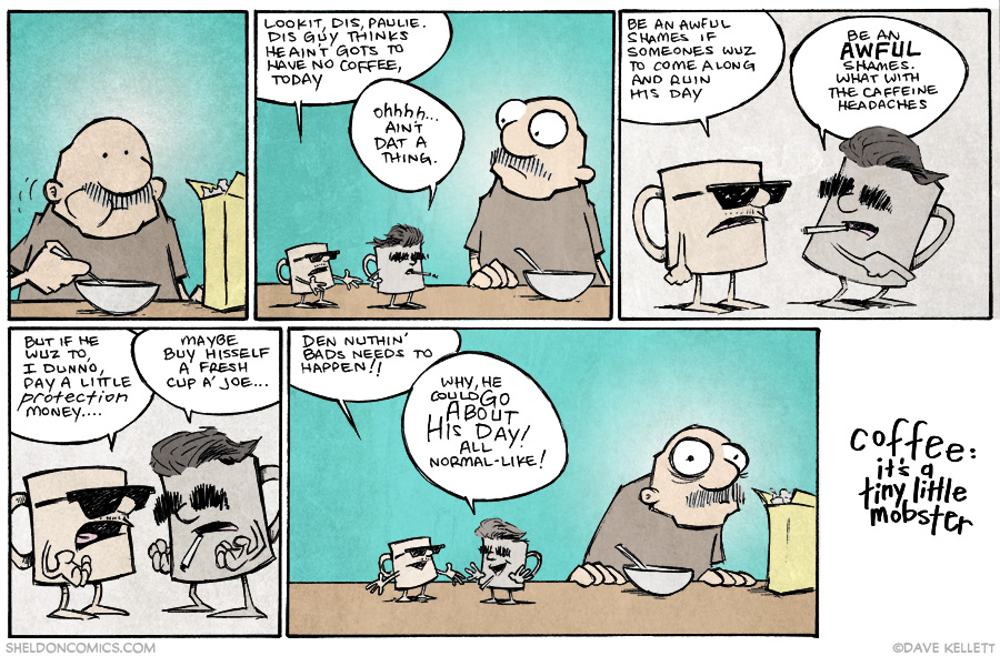 strip for November / 25 / 2014 - Daily Protection Money