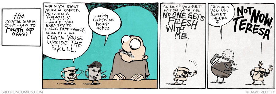 strip for December / 1 / 2014 - Don't You Get Fresh With Me