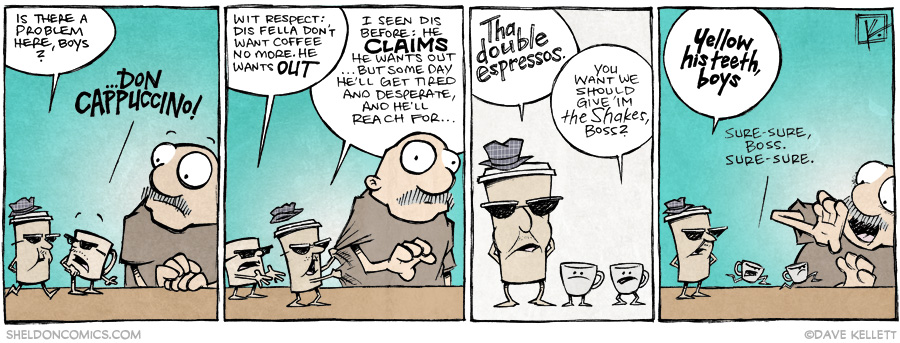 strip for December / 2 / 2014 - Don Cappuccino