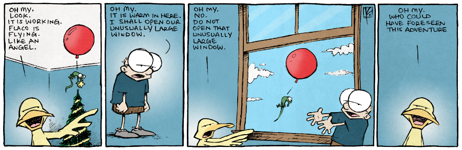 strip for December / 16 / 2014 - Sheldon: Your Home for High-Stakes ADVENTURE