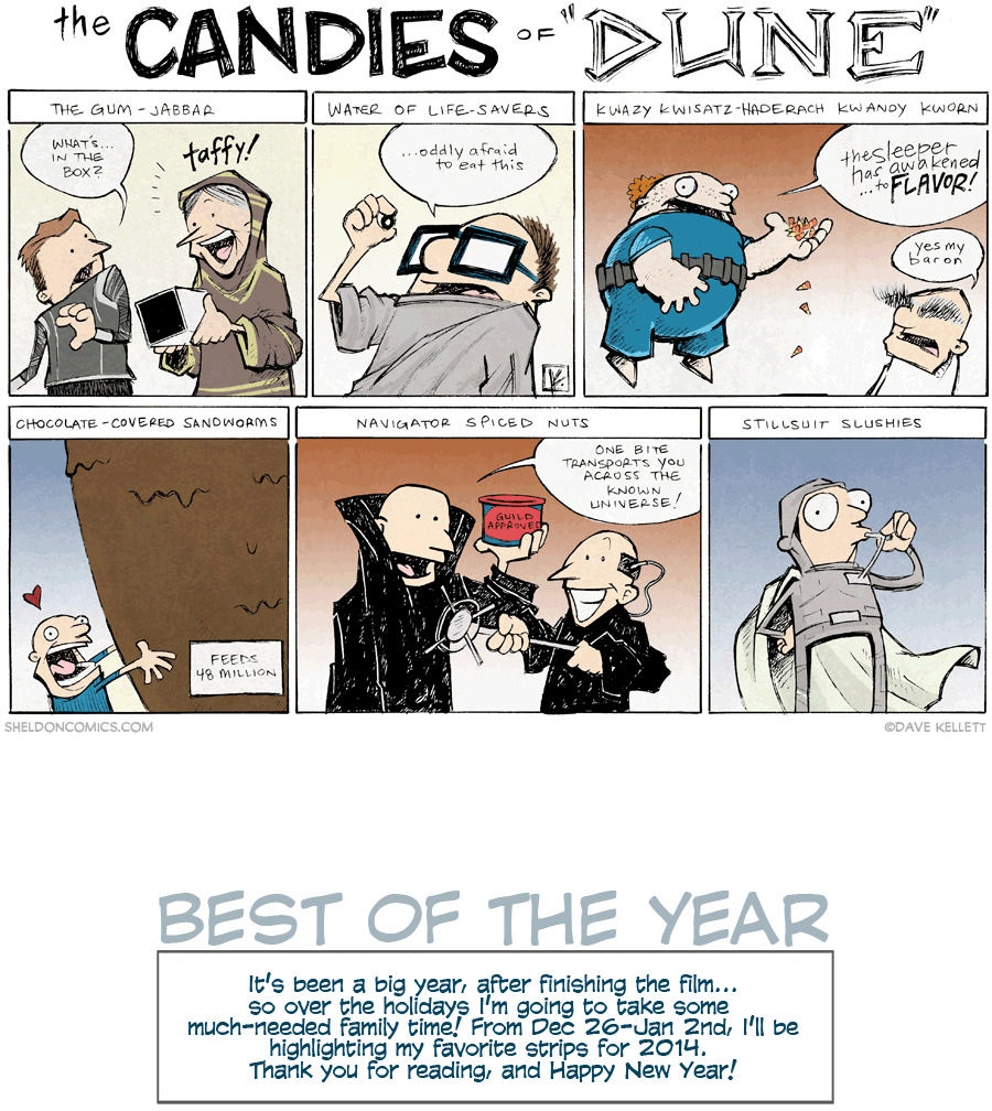 strip for January / 1 / 2015 - The Candies of Dune
