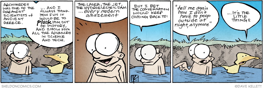 strip for February / 23 / 2015 - It's The Little Things