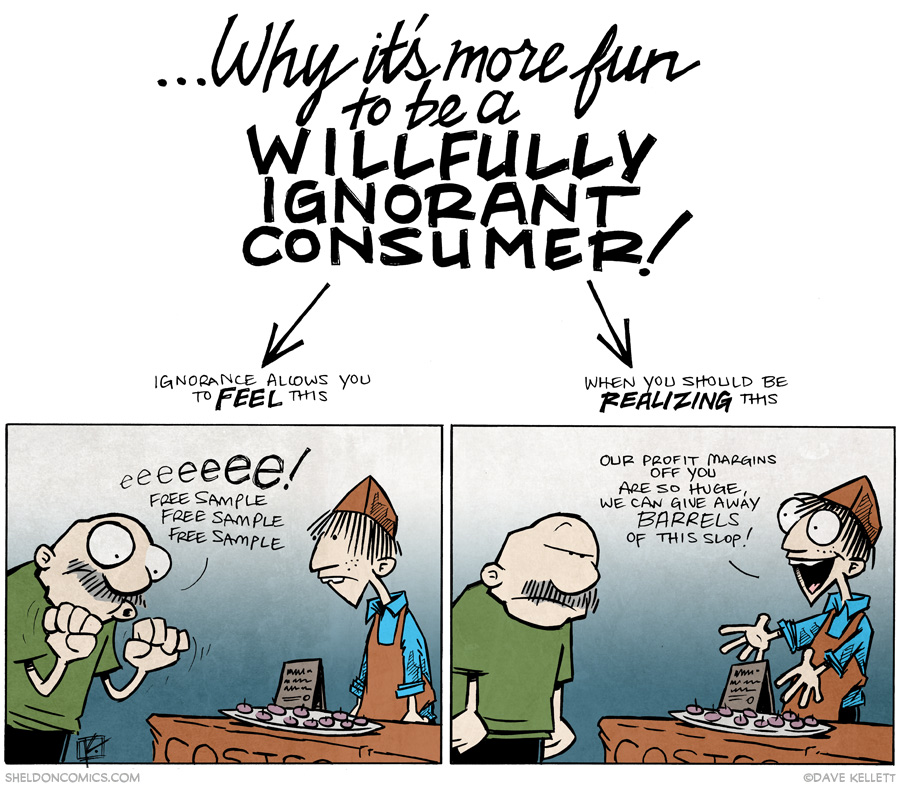 strip for February / 26 / 2015 - How to Shop at Costco