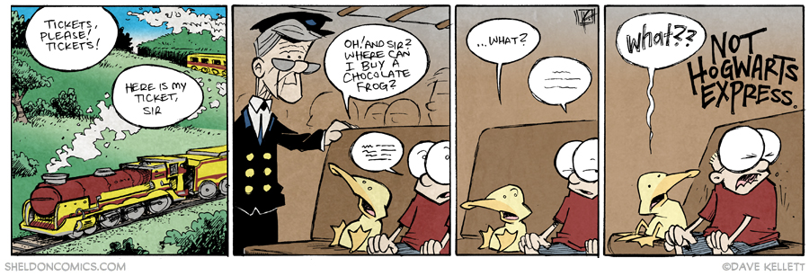 strip for March / 18 / 2015 - It's All He Knows