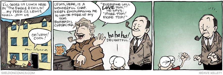 strip for March / 25 / 2015 - More Tom! More Tom!