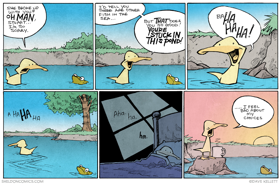 strip for April / 22 / 2015 - Other Fish In The Sea