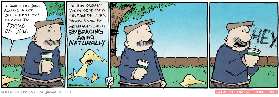 strip for July / 7 / 2015 - How To Win Friends and Influence (Old) People