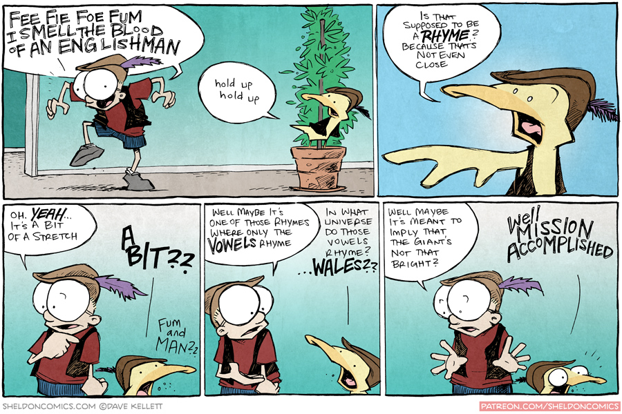 strip for August / 17 / 2015 - Fee Fie Foe Fum