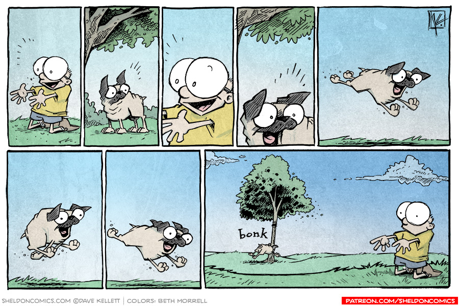 strip for August / 25 / 2015 - The Love of a Pug