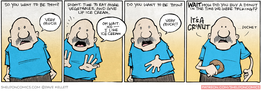 strip for September / 11 / 2015 - So You Want To Be Thin?