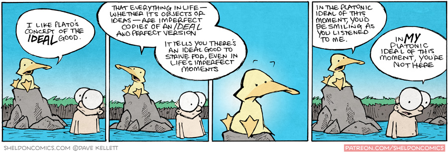 strip for September / 14 / 2015 - The Platonic Ideal of this Moment