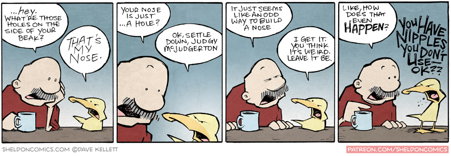 strip for September / 18 / 2015 - Nostrils