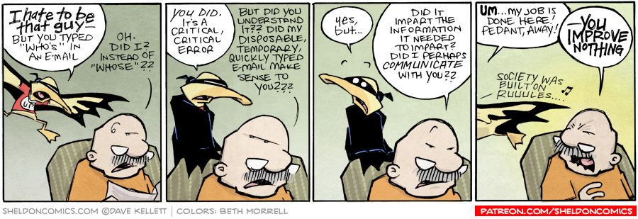 strip for September / 30 / 2015 - He May Not Be The Hero That We Want...But He's Also Not the Hero That We Need