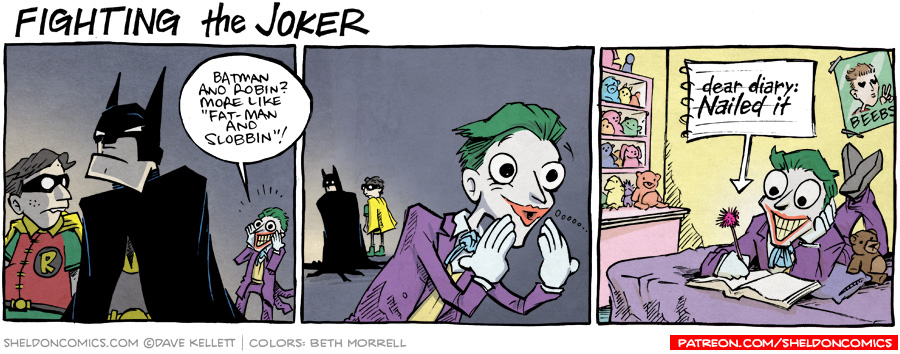 strip for October / 2 / 2015 - The Killing Joke