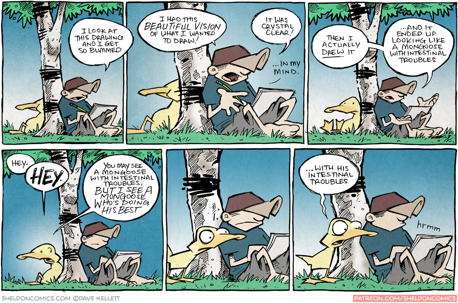 strip for October / 16 / 2015 - Show Your Work