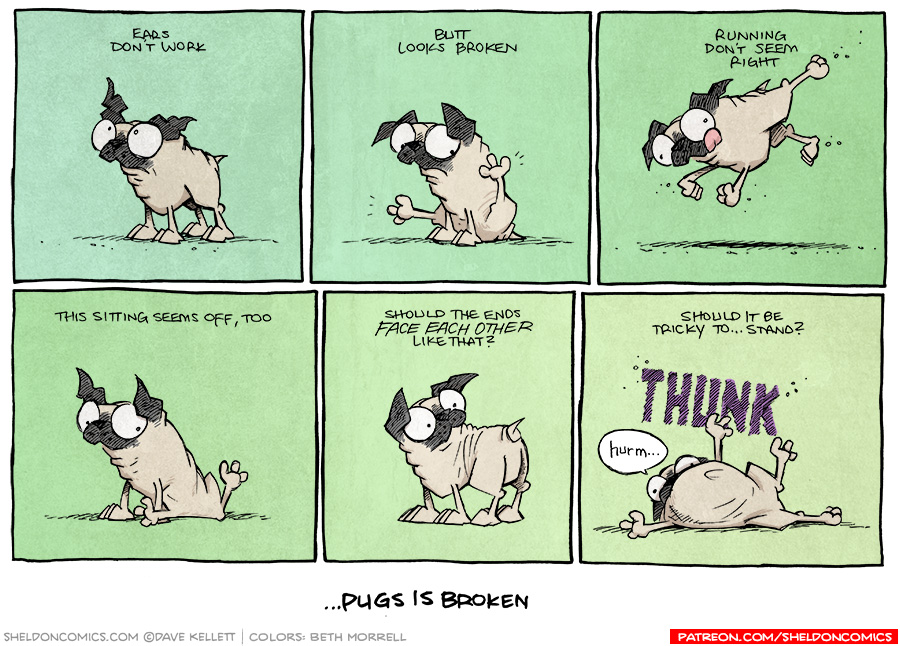 strip for November / 5 / 2015 - But They're Smart As All Heck, Maybe?