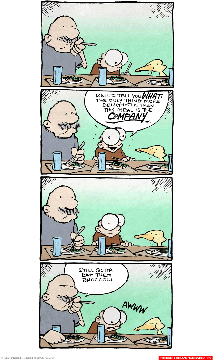strip for September / 14 / 2016 - The only thing better than this meal