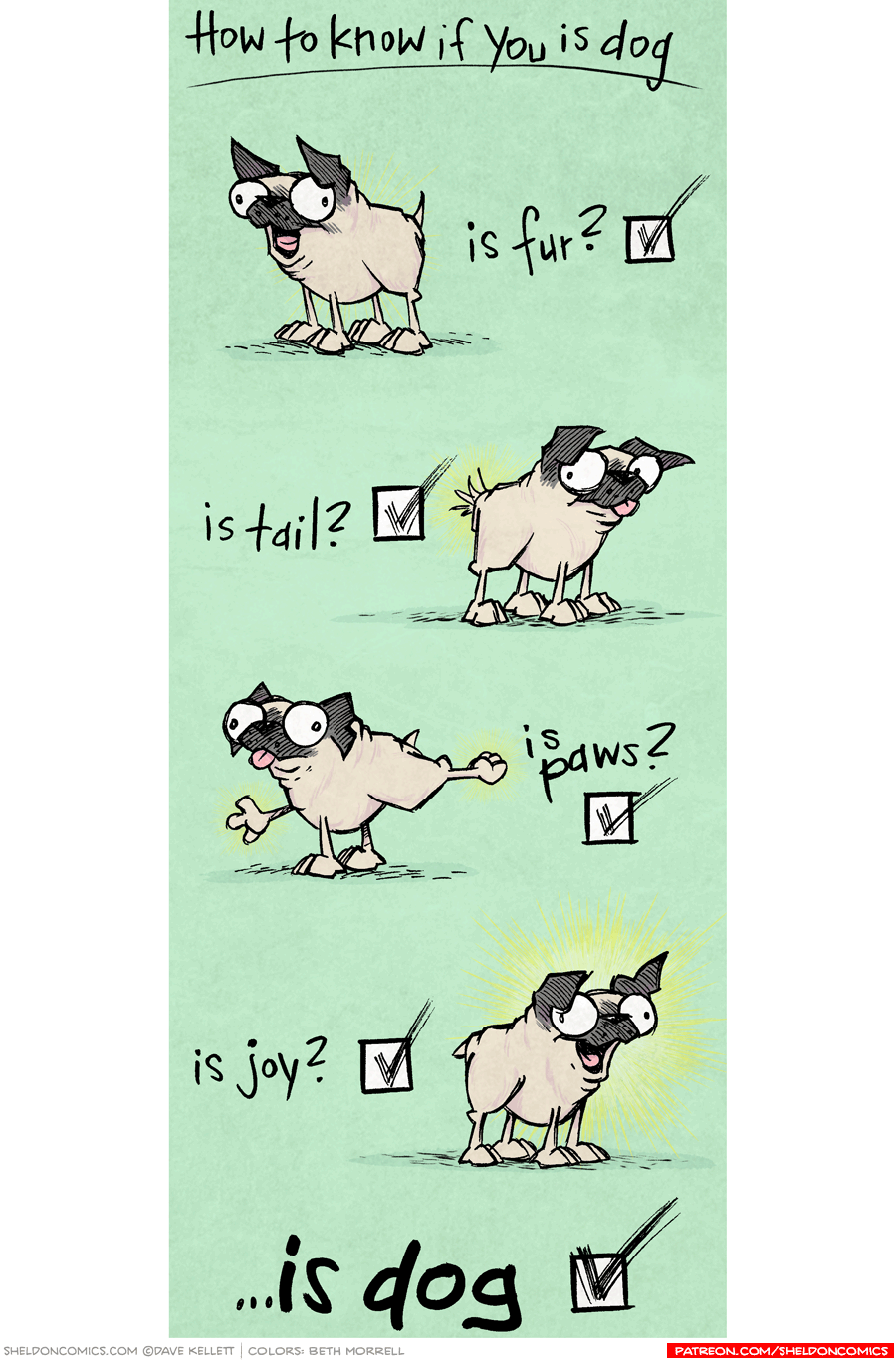 strip for February / 8 / 2017 - Is Dog?