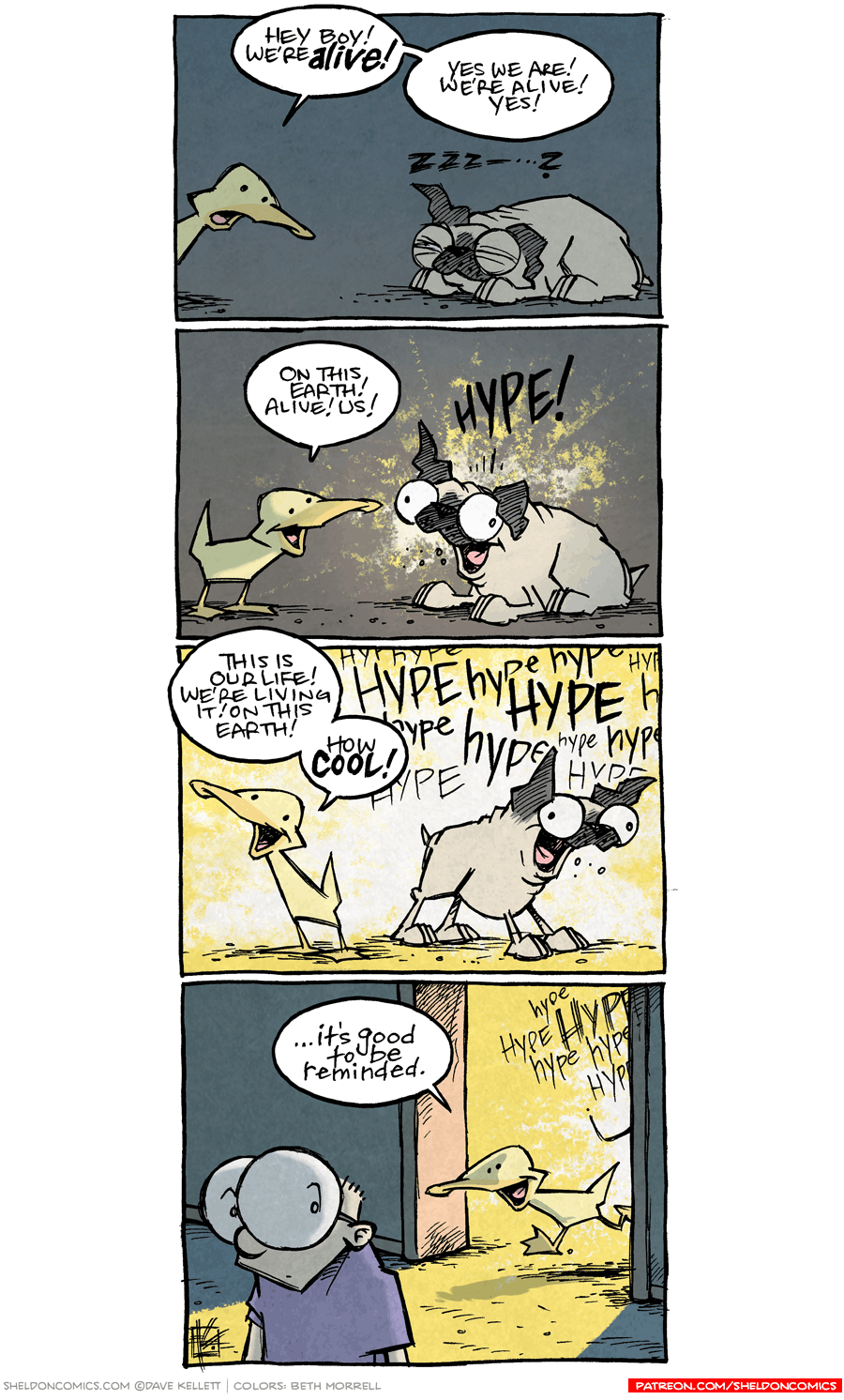 strip for February / 22 / 2017 - Hey! We're Alive!