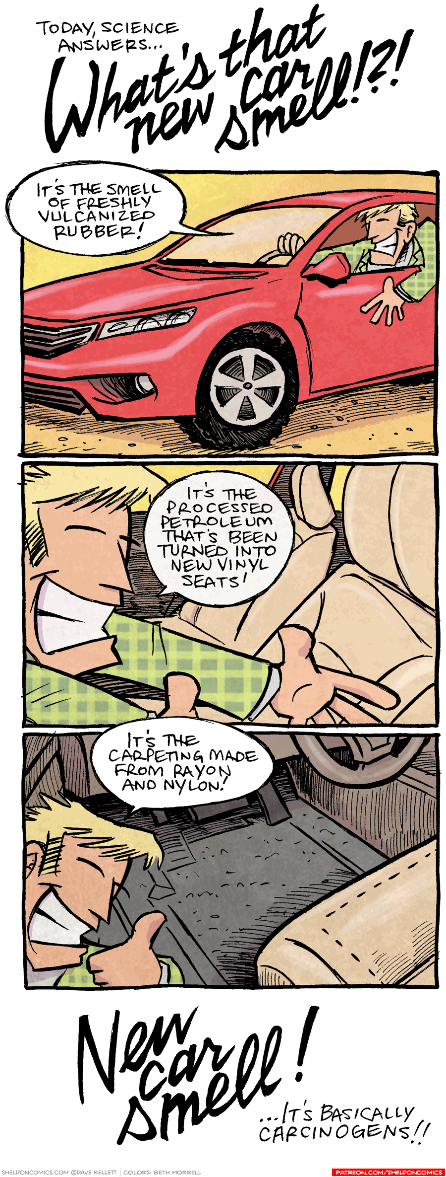 "strip for March / 28 / 2017 - What is ""New Car Smell""?"