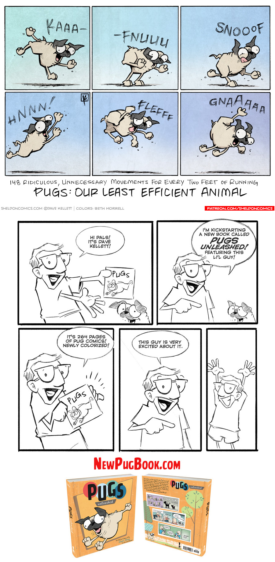 strip for March / 8 / 2018 - Our Least Efficient Animal