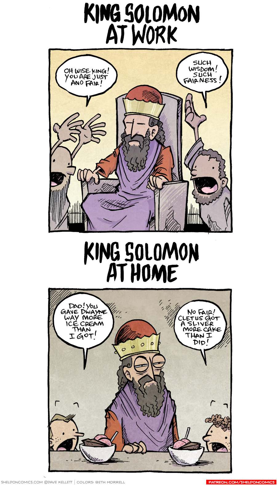 strip for July / 13 / 2018 - King Solomon