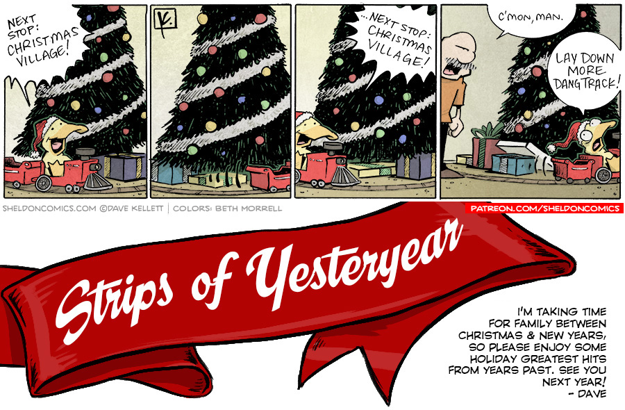 strip for December / 27 / 2018 - Next stop...