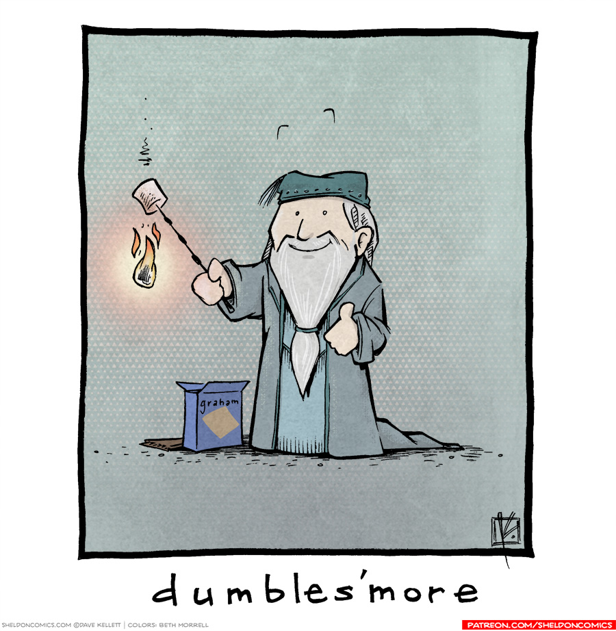 strip for January / 7 / 2019 - Dumbles'more