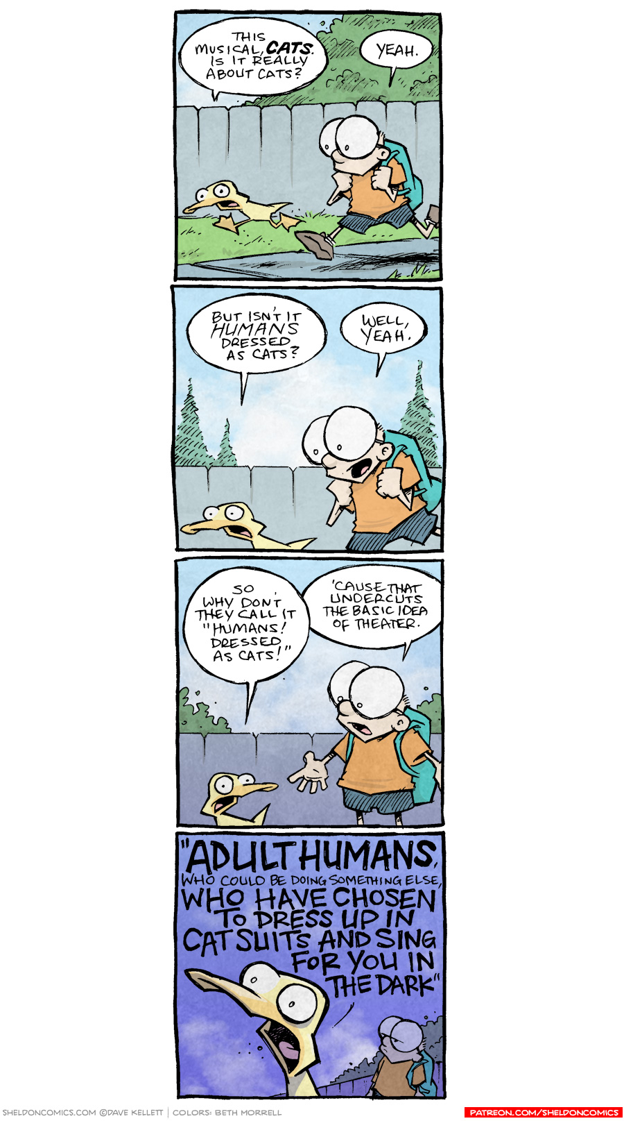 strip for March / 20 / 2019 - Cats the Musical