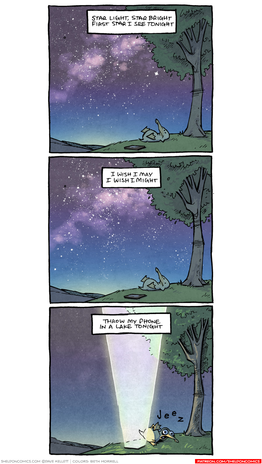 strip for May / 3 / 2019 - Star Light, Star Bright