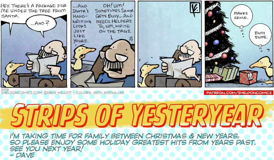 strip for December / 21 / 2019 - Busy Dude