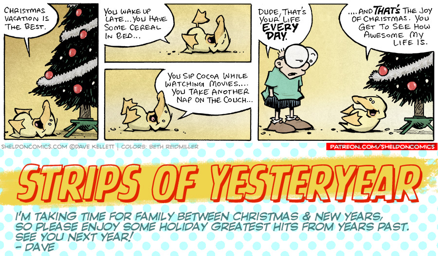 strip for December / 28 / 2019 - Christmas Vacation