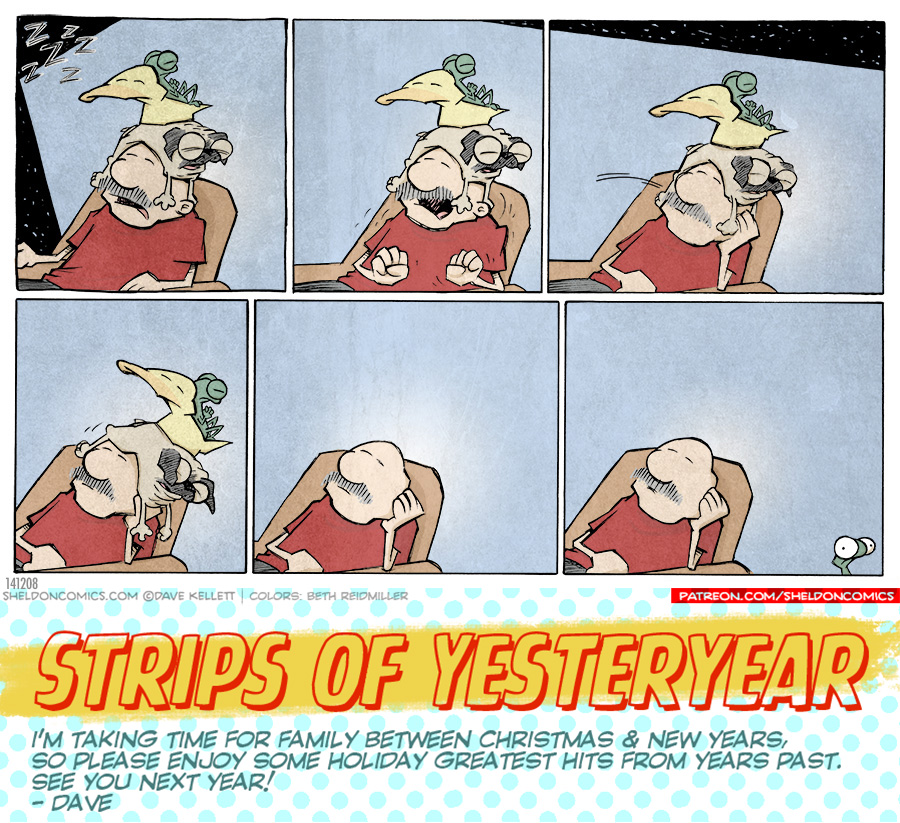 strip for December / 30 / 2019 - Post-Holiday Nap