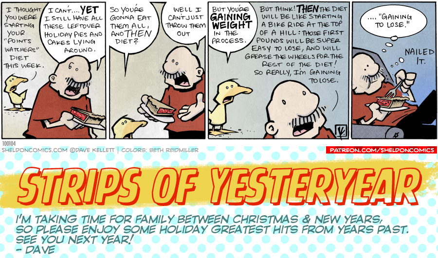 strip for December / 31 / 2019 - New Year New Me