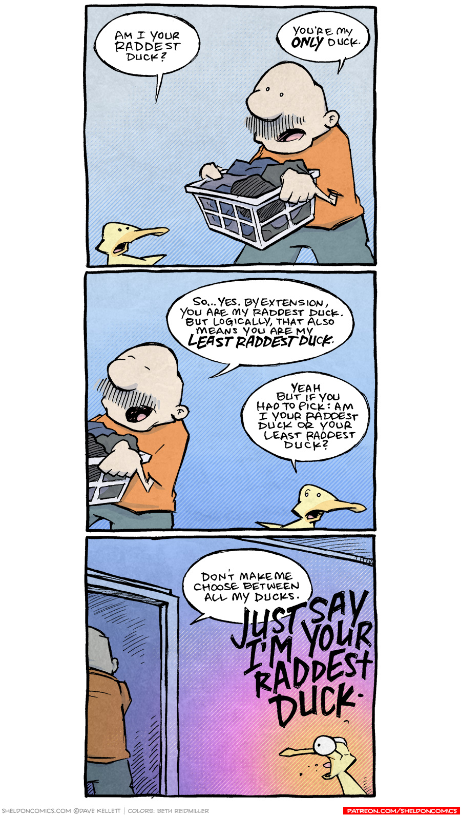 strip for May / 11 / 2020 - Raddest Duck