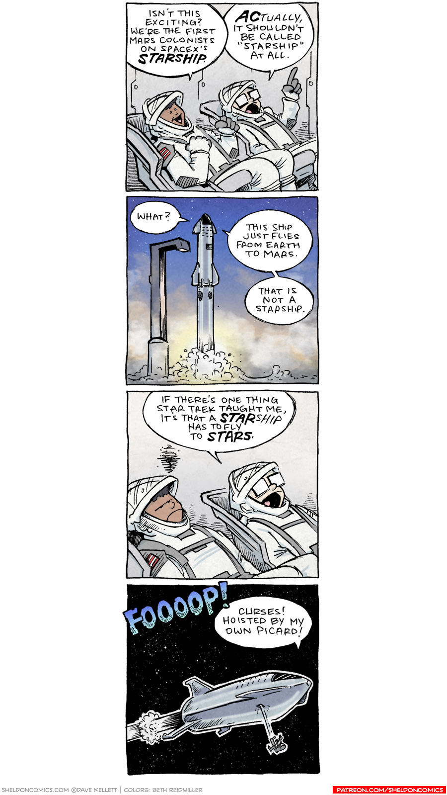 strip for May / 19 / 2020 - To Mars!