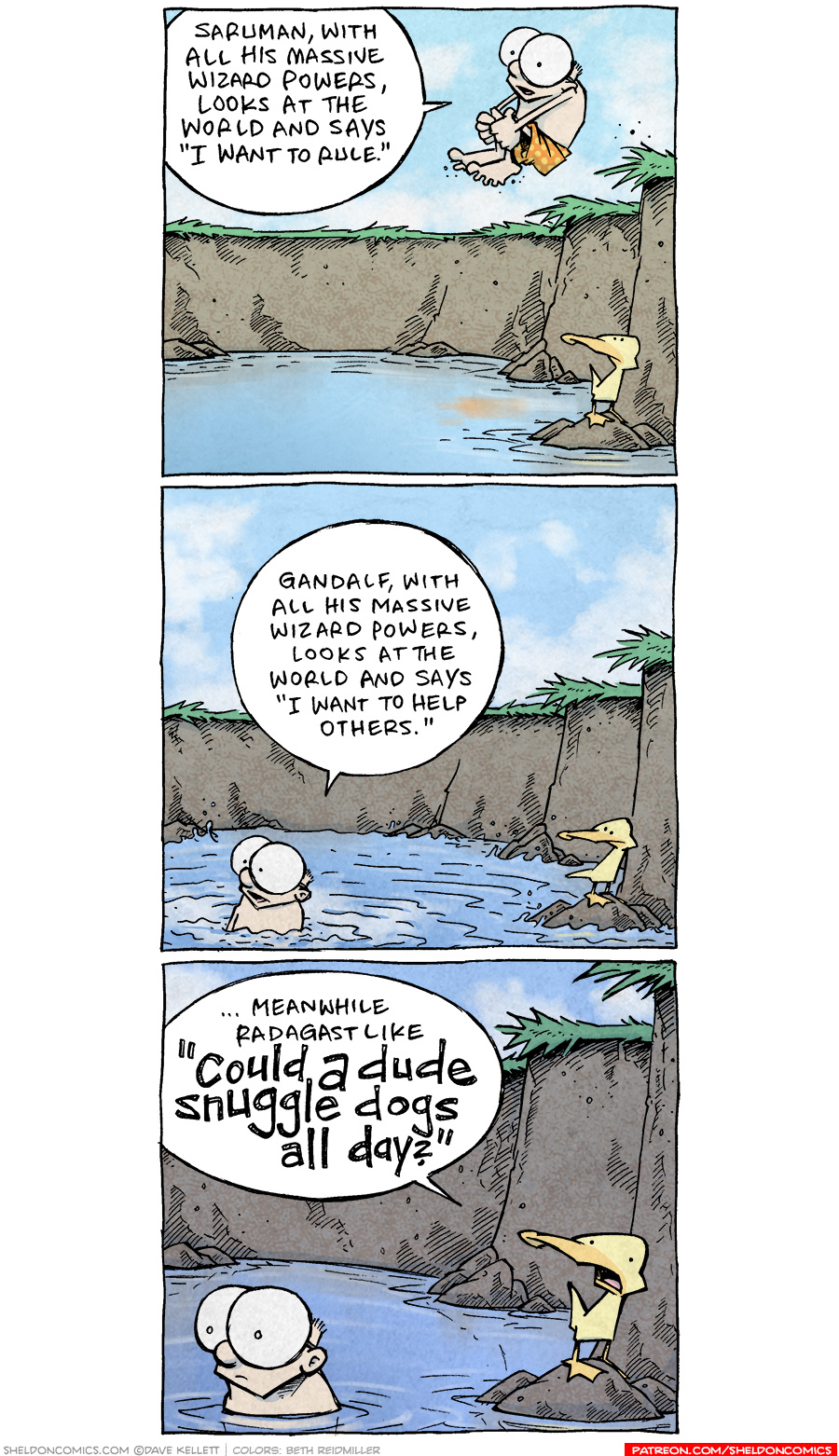 strip for September / 15 / 2020 - All Powerful Wizards...