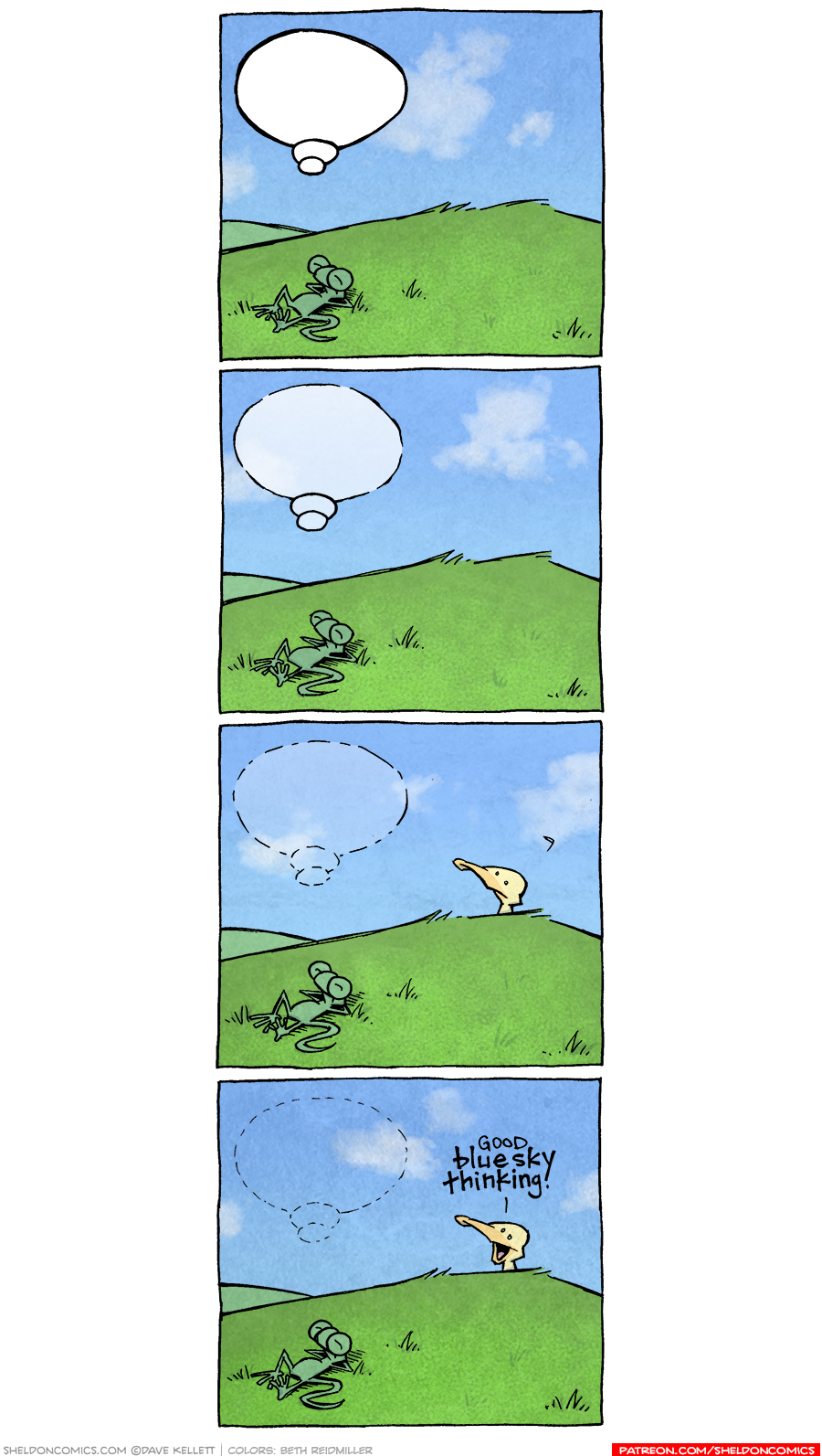 strip for October / 6 / 2020 - Blue Sky Thinking
